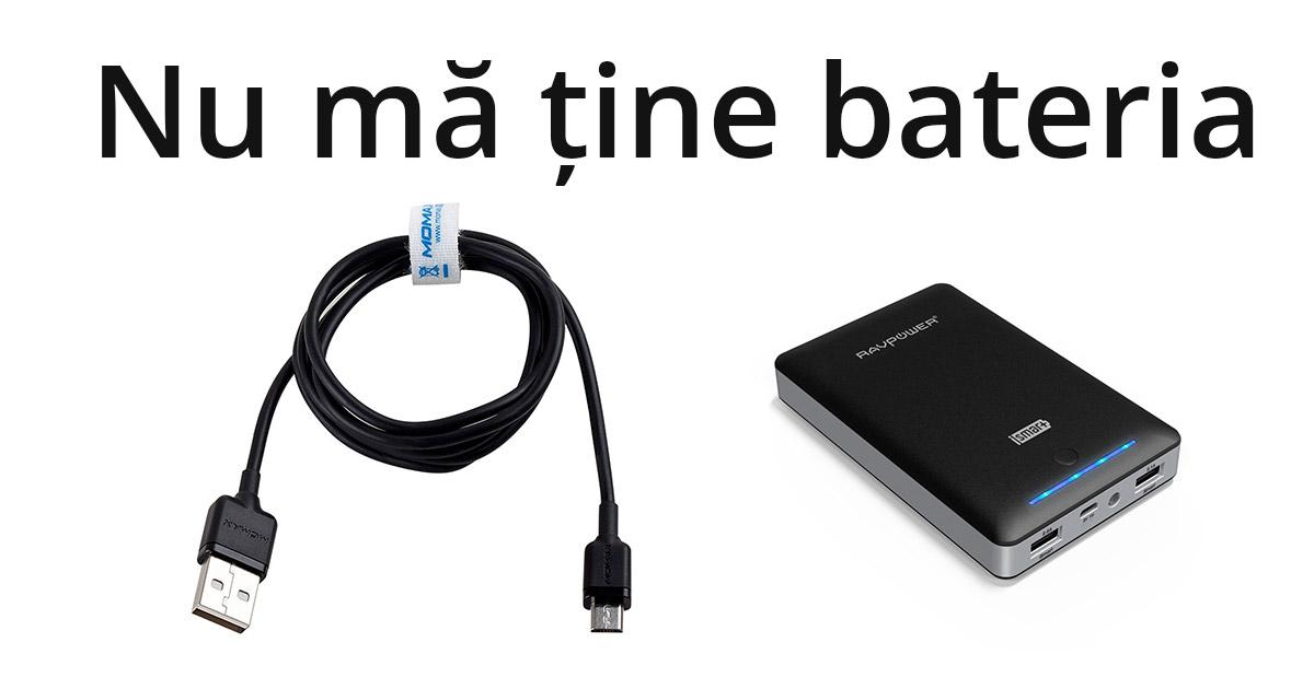 De ce nu ma tine bateria telefonului ca la inceput?