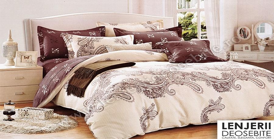 Intretinerea lenjeriilor de pat bumbac