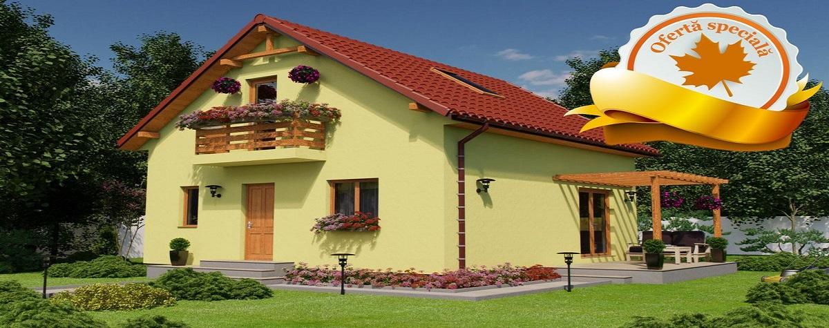 Construieste intelept - descopera beneficiile unei case pe structura de lemn