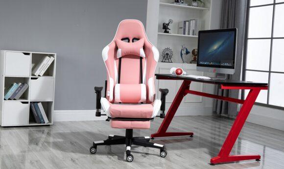 Cel mai bun scaun gaming cu suport de picioare si funcție sezlong